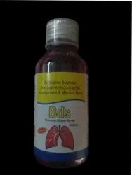 Terbutaline Sulphate Bromhexine Hydrochloride Guaiphenesin Menthol Syrup