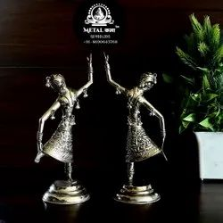 Polished Brass Doll Set, For Home, Packaging Type: Box