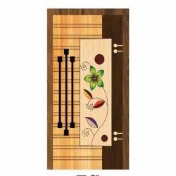 73 Inch Wooden Membrane Door