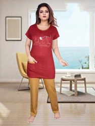 Ladies Hosiery Nightwear, Payjama,T Shirt