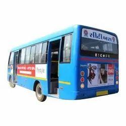 1 Month vinayl City Bus Advertising, in Surat, 10ft