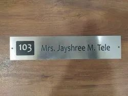 S. S Name Plate