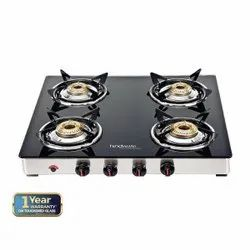 Hindware Neo GL 4B AI Glass Cooktop