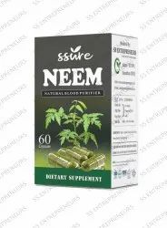 Ssure Neem Capsule for Natural Blood Purifier
