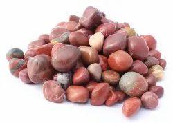 Tumbled Red Zesper Polished Pebble Stone