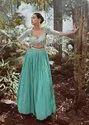 Designer Gown-Flared/S Equines/Drape