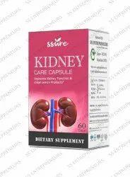Ssure Herbal Kidney Care 60 Capsule Pack for Renel Disorders