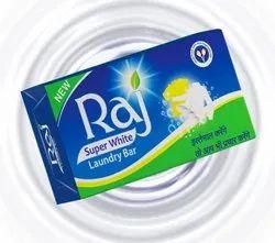 Coconut Raj Super White Soap, Shape: Rectangle, Packaging Size: 100 Gm
