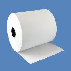 Plain White Thermal Paper Roll, GSM: 120 Gsm