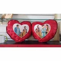 Double Heart Sublimation Cushion