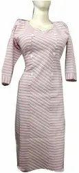 Ladies Straight Casual Cotton Kurti, Wash Care: Machine wash