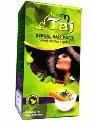 100gm Taj Herbal Hair Pack, Type Of Packaging: Box