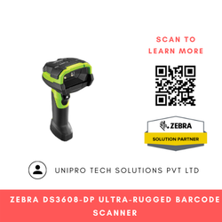 Zebra DS3608-DP Ultra-Rugged Barcode Scanner
