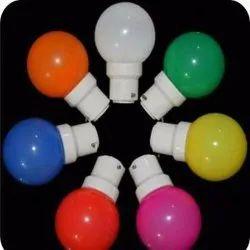 0.5 W Ceramic Colored Night Light Bulb, For Indoor