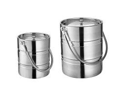 Pipe Handle Ice Bucket Barni