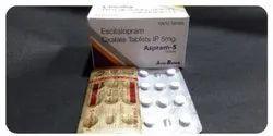 Escitalopram Oxalate IP 5 Mg Tablets