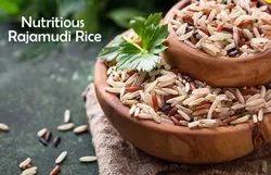 Brown and Red Nutritious Rajmudi Rice, PP Bag