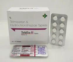 Tekfix-H (Telmisartan & Hydrochlorothiazide)