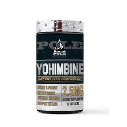 Pole Nutrition Yohimbe Hcl 2.5 Mg 60 Capsules, us