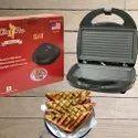Sandwich Toaster Chef Pro Grill Black