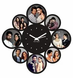 Personalized Sublimation Photo Wall Clock, For Gifting