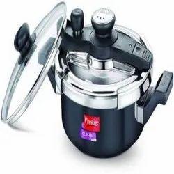 Prestige Svachh Clip on 3 L Induction Bottom Pressure Cooker  (Hard Anodized)