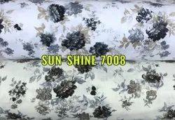 Pure Cotton 7008 Sun Shine Fabric, Floral