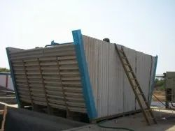 Counter Flow Wooden Cooling Tower, For Industrial Use, Cooling Capacity: 100 Ton
