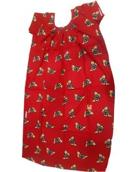 Cotton Frocks & Dresses Printed Ladies Nightwear, Size: 40