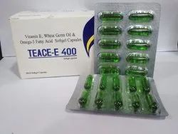 Omega 3 Fatty Acid Vit.E Wheat Germ Oil Softgel Capsules