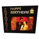 Wooden Brown Led Mdf Frame, For Gift, Size: 7x9