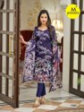M Print Vol 4 Karachi Printed Cotton Dress Material Catalog