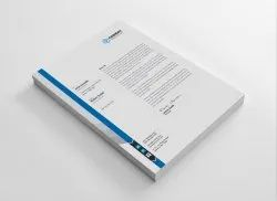 Paper Letterhead Template Printing Service, in Pan India