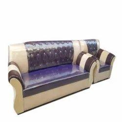 ALM SHOPPEE Modern Wooden Designer Living Room Sofa Set, Tight Back, Size: 5.5 Feet ( Lenght)