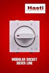 Silver Line Modular Socket