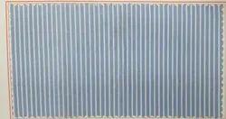 Poly Cotton Blue Pc Shirting Fabric, Strped