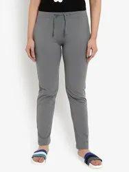 Cotton Grey Women's Casual Lounge Comfort Pants