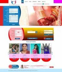 1.5 Month Unisex Matrimonial Website Designers, Indian