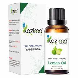 KAZIMA 100% Pure Natural & Undiluted Lemon Oil