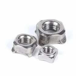 Stainless Steel Square Weld Nuts/ 304/316