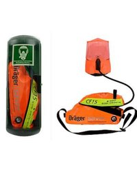 Drager Saver CF-15 Compressed Air Escape Device, For Breathing