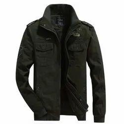 Men Winter Casual Slim Fit Cotton Jacket