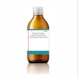 Allopathic Ambroxol Terbutaline Guaiphenesin Syrup, Packaging Type: Bottle