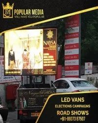 Outdoor Advertising Van, For Election Campaign,Road Shows, in Pan India
