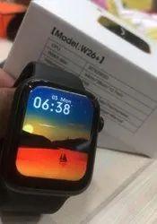 Series 6 Black W26+ Pro Bluetooth Smart Watch, 45.22