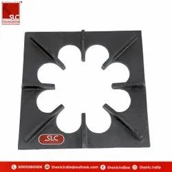 SLC Cast Iron Pan Support Flower Type