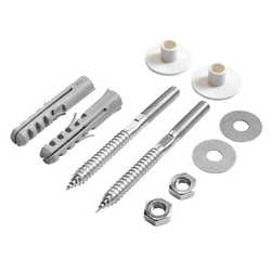 Mild Steel MS CP Wash Basin Rack Bolt, Zinc Coating