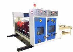 Chain Feed Printer with Creaser and Slotter (RS4)