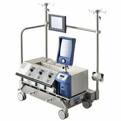 Stainless Steel and Plastic White Heart Lung Machine, For Hospital
