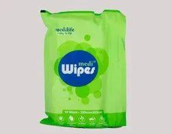 Wet Wipes Mediwipes 30x32cm - 10pc